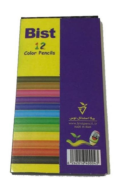 مداد رنگی ۱۲ تایی بیست