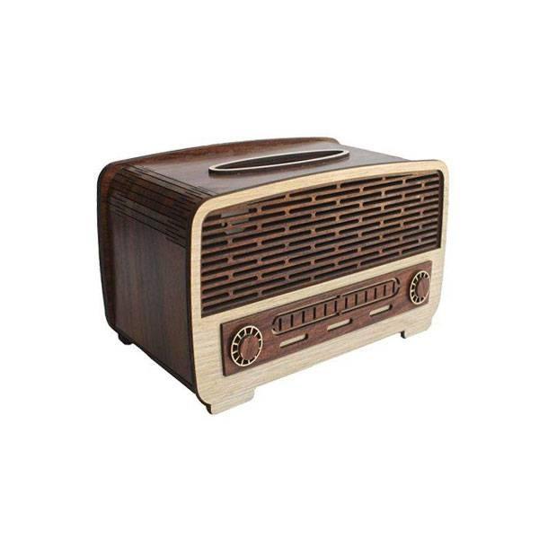 جا-دستمال-کاغذی-مدل-رادیو